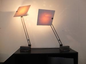 Paire de lampes W&O