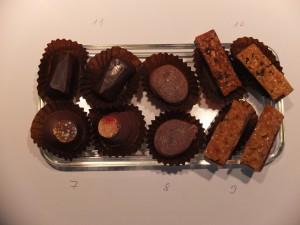 Et Hop, 2è plateau de dégustation de RAPHAËL Chocolatier